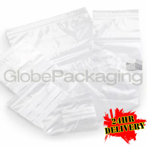 "2000 x Grip Seal Resealable Poly Bags 10"" x 14"" GL14"