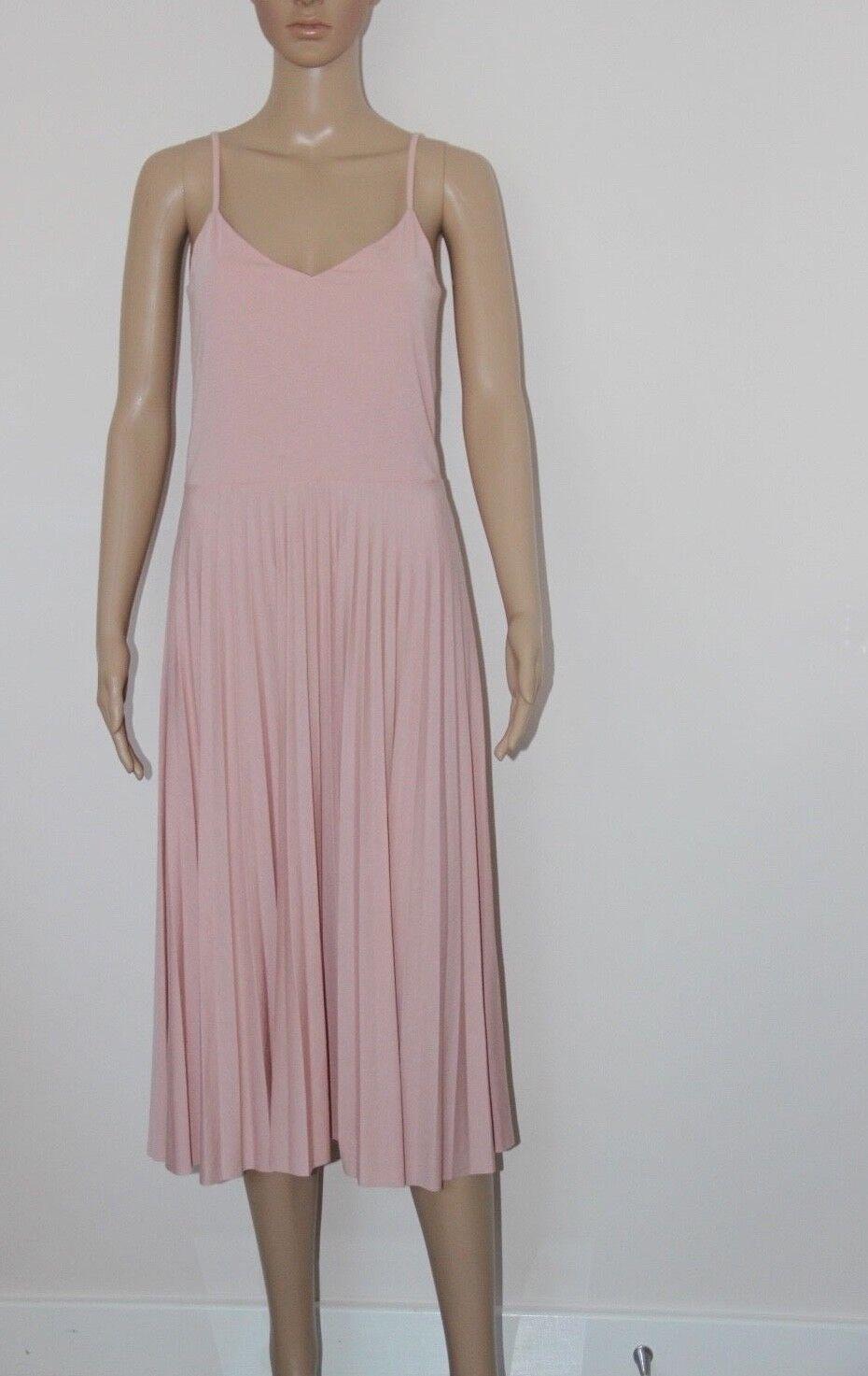 ASOS Ladies Pleated Cami Dress in Pink UK12 EU40 US8