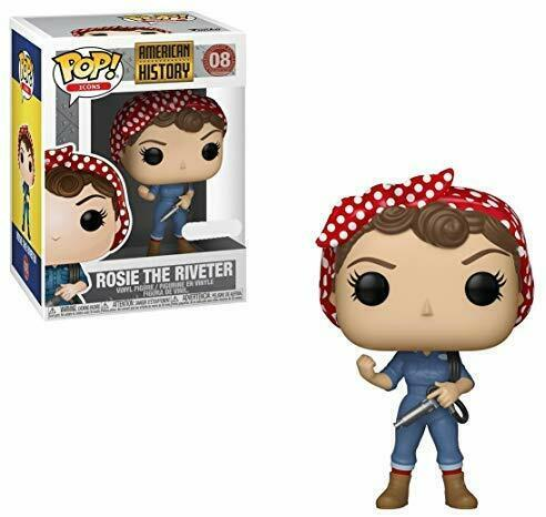 Funko Pop Icons History - Rosie The Riveter Exclusive