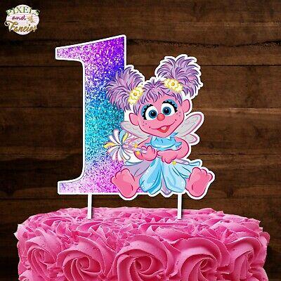 Prime Abby Cadabby Cake Topper Cutout Cake Decoration Centerpiece Ebay Funny Birthday Cards Online Necthendildamsfinfo