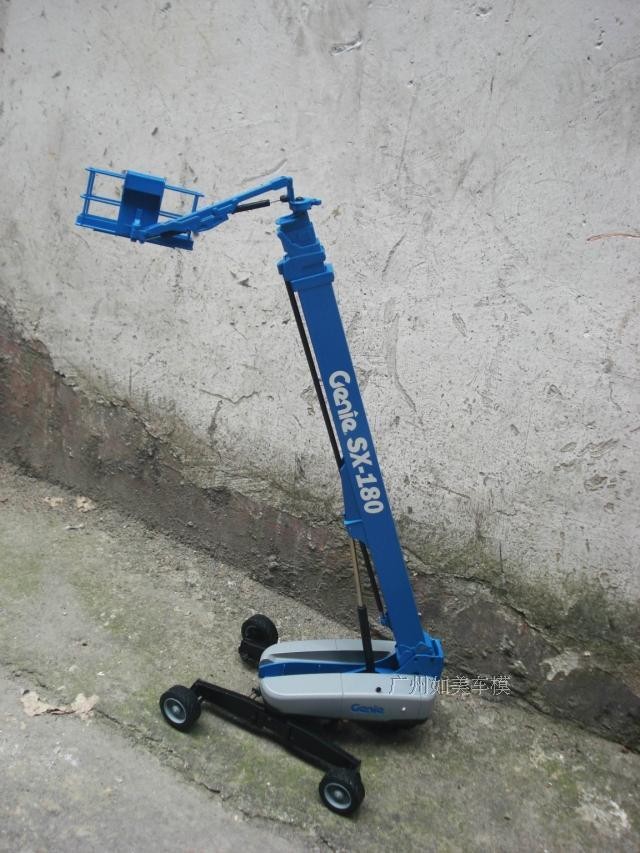 NZG 1 32 Genie SX -180 Aerial work platform alloy model
