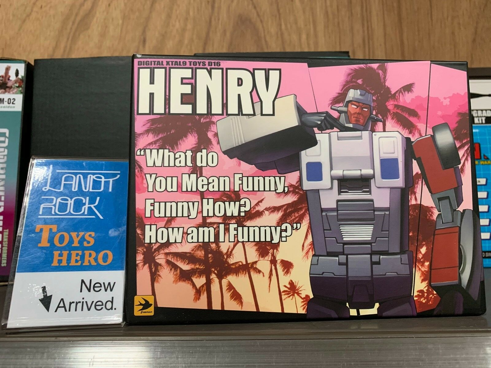 [Toys Hero] In Hand DX9 toy D-16 Henry G1 Menasor WILDRIDER Henry D16