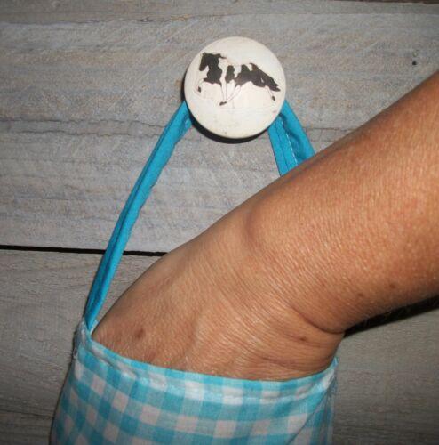 Fat Chefs Waiters Spaghetti Wine Cake Pizza Plastic Grocery Bag Rag Sock Holder
