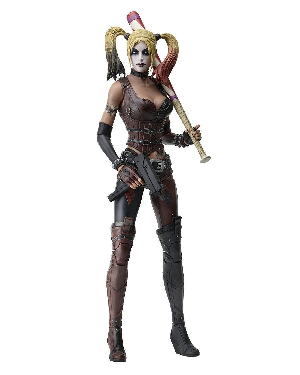 1 4 Scale Arkham City Harley Quinn Figure by Neca