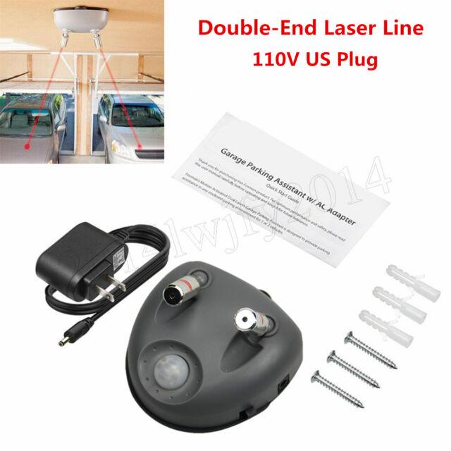 110v Car Garage Parking Assist Helper Laser Motion Sensor Aid Guide Stop  Light