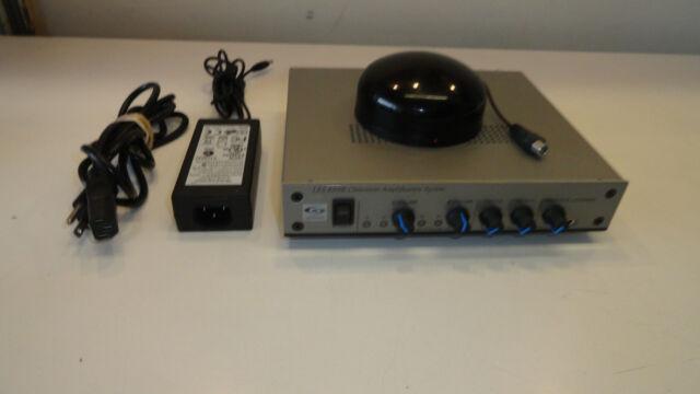 Lightspeed 820ir Classroom Amplification System With Power Supply Ebay