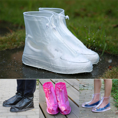 Waterproof Protector Shoes Reusable Boot Cover Rain Shoe Covers Anti-Slip Unisex