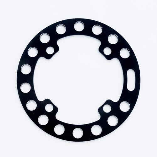 60g aluminum 104mm BCD ROCK RING chain Bike Bash Guard Black 36t Max