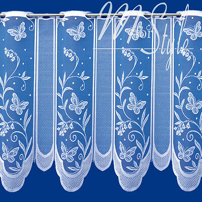Multiple Listing Premium Quality Cafe Net Curtains Ready to Hung Sold by Metre