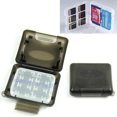 New Plastic Case For Micro SD TF Memory Card Storage Holder Box Protector