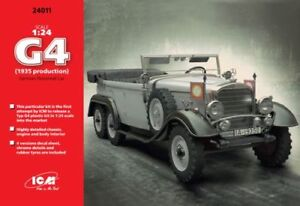 ICM 24011 Typ G4 1935 German Personnel Car in 1:24