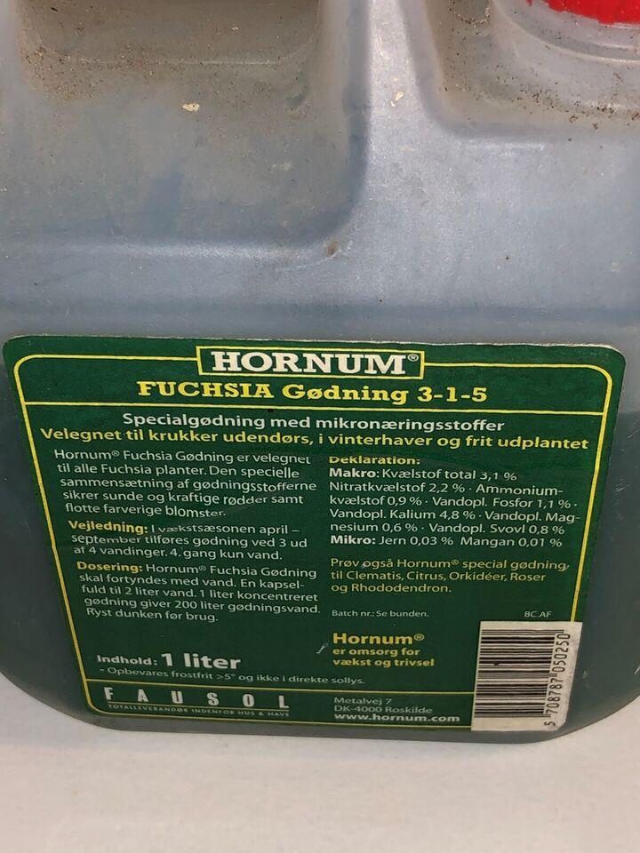 Fuchsia gødning