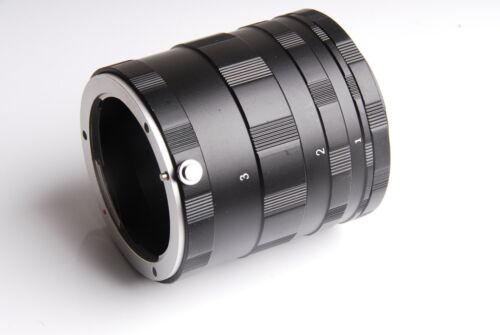 Macro Extension Tube 3 Ring Set fits for Sony NEX E-mount DSLR SLR NEX-7 NEX-3N