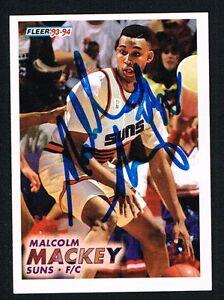 Malcolm-Mackey-360-signed-autograph-auto-1993-94-Fleer-Basketball-Trading-Card