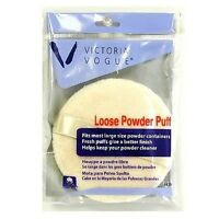 Victoria Vogue Round Loose Powder Puff 1 Ea (pack Of 2) on Sale