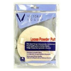 Victoria-Vogue-Round-Loose-Powder-Puff-1-ea-Pack-of-2