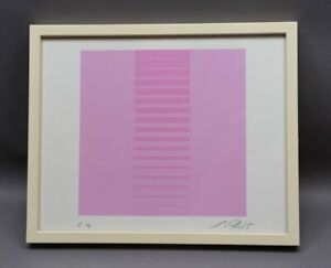 Künstler der Moderne - Geometrische Komposition mit Streifen Sammlungsauflösung