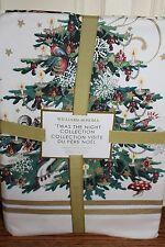 NWT Williams Sonoma Twas the Night Before Christmas tablecloth 70x90 cloth