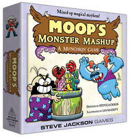 Moop's Monster Mashup Deluxe Board Game Steve Jackson Games Sjg 1544 Ian Mcginty