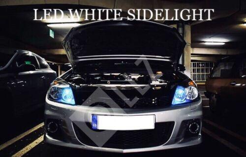Vauxhall Astra H 04-10 LED XENON WHITE SIDELIGHT BULBS UPGRADE ERRORFREE VXR