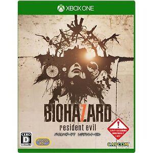 Biohazard-7-Resident-Evil-MICROSOFT-XBOX-ONE-JAPANESE-NEW-IMPORT