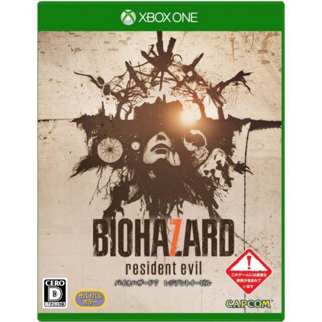 Biohazard 7 Resident Evil MICROSOFT XBOX ONE  JAPANESE NEW IMPORT