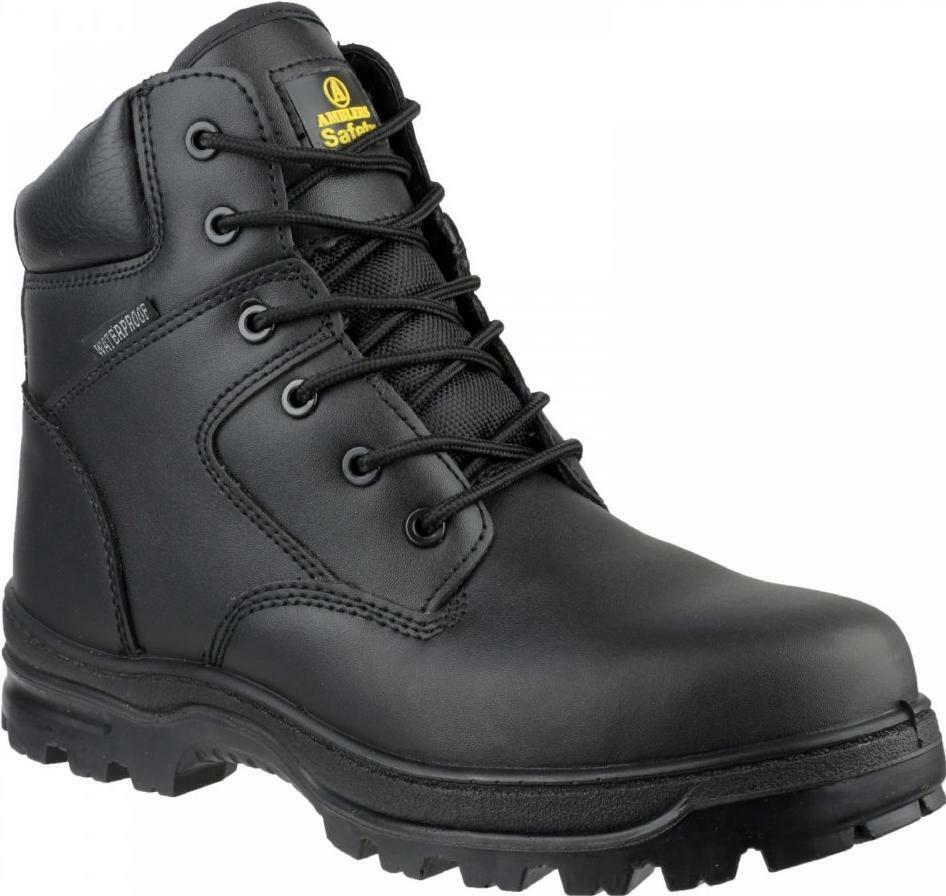 Amblers Safety FS006C Unisex Composite Toe Cap Antistatic S3 S3 S3 Safety Boots Black b3e090