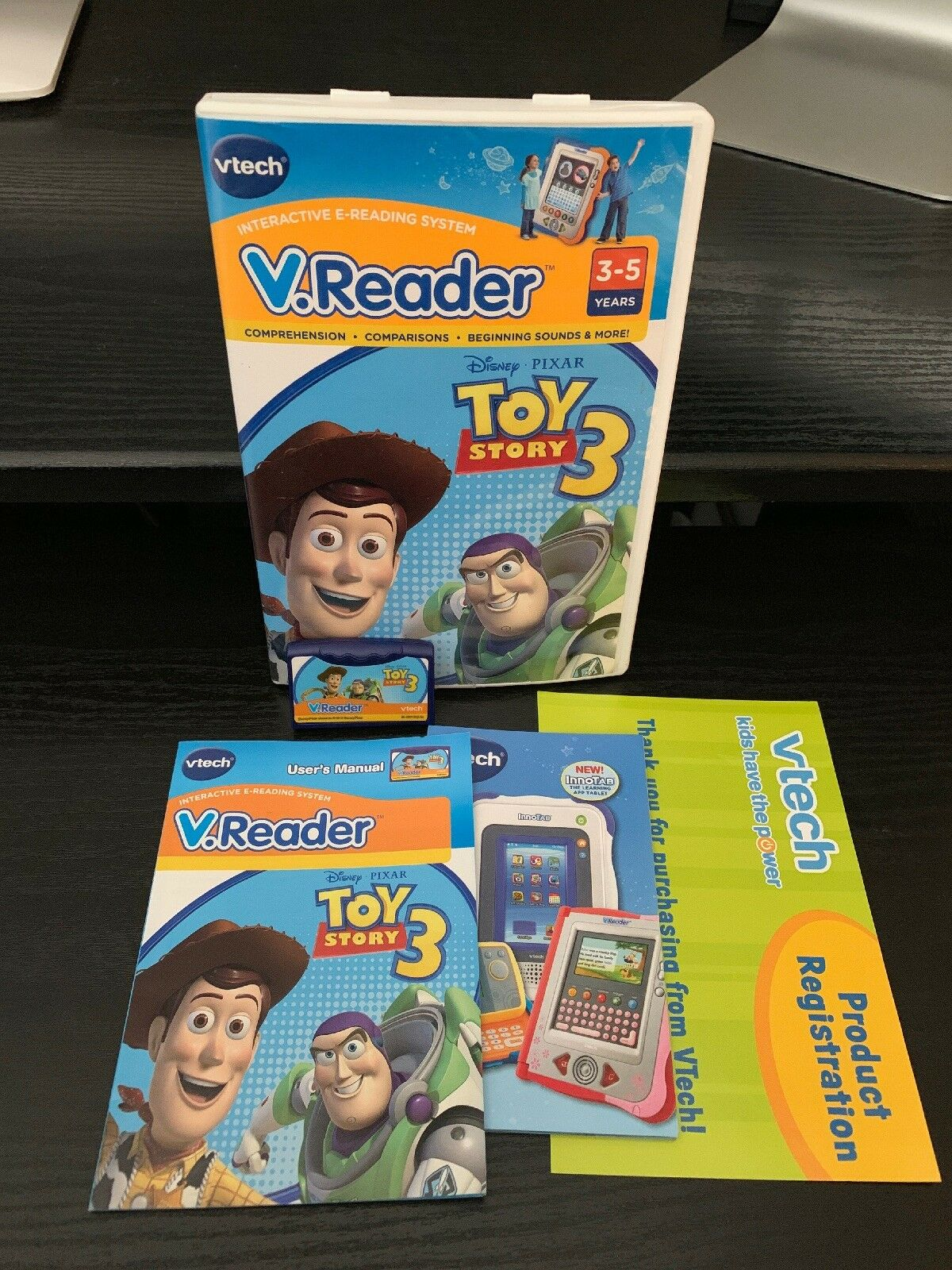 TOY STORY 3 vtech V.Reader VREADER Free Shipping