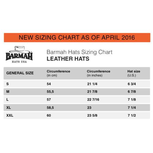 1026BR 1026BL Barmah Hats Squashy Fullgrain Leather Hat