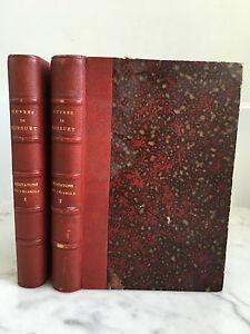 Oeuvres de Bossuet Quatrième partie II Méditations sur l'évangile I 2Vols 1889