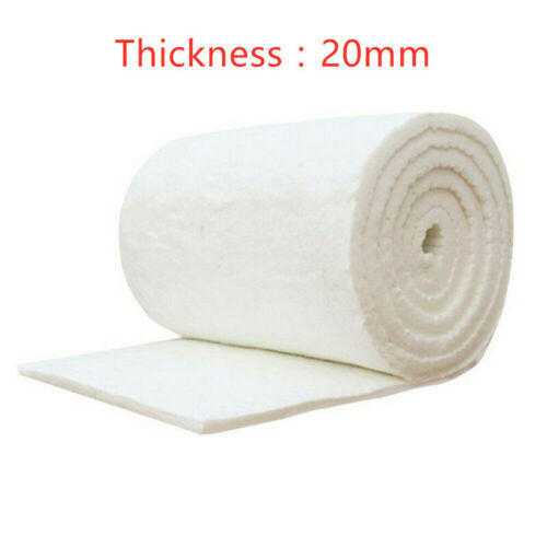 Ceramic Fiber Insulation Blanket for Wood Stoves or Inserts Fireproof Mat Pad 1m