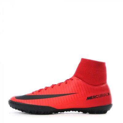 Scarpe calcetto uomo Nike Mercurialx Victory DF TF 903614 616 rosso nero | eBay