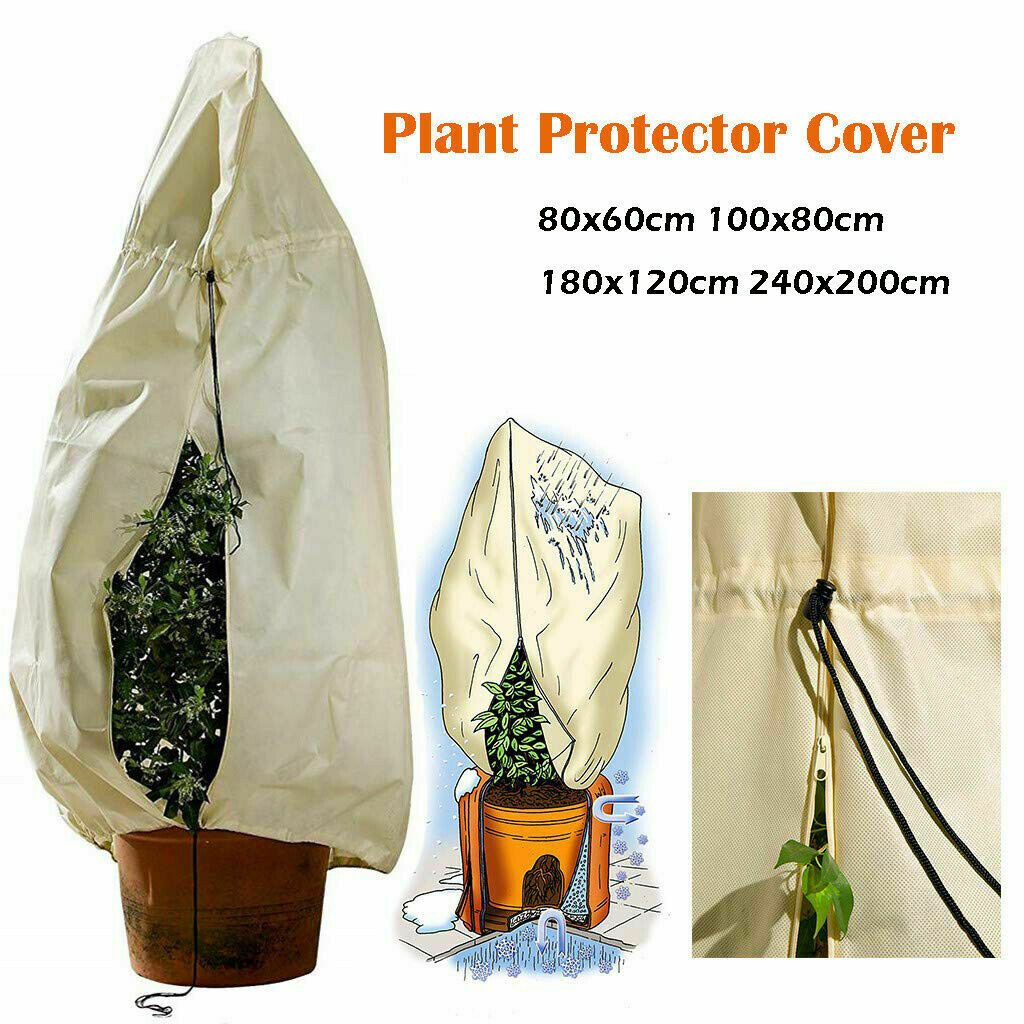 Garden Frost Plant Protection Cover Winter Heavy Duty Warming Jacket Tree M/L/XL