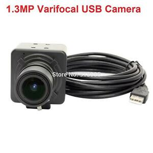 No Driver 1.3MP CMOS AR0130 Low Light USB Camera Webcam 2.8-12mm ...