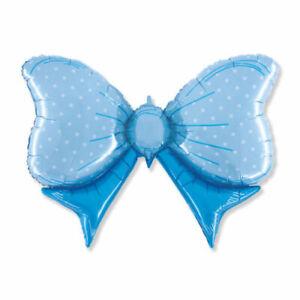 Palloncino-alluminio-nascita-fiocco-azzurro