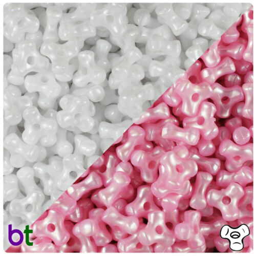 Color choice BeadTin Pearl 11mm TriBead Craft Beads 600pcs