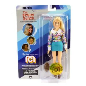 """Brady Bunch Marcia Classic 8"""" Figure Marty Abrams Limited Edition Free Shipping"""