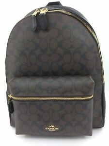 Coach Leather Signature Charlie Backpack F58314 Imaa8 for sale ... 02ff012fda8cf