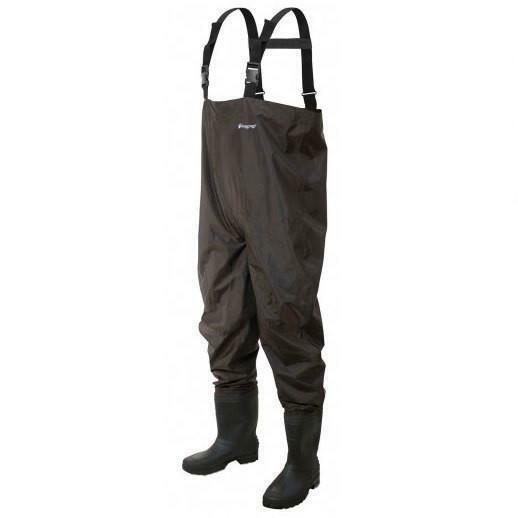 Frogg Toggs  2715349 Rana II PVC Nylon Felt Sole Chest Waders  high quality