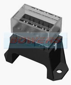 12v-24v-Volt-4-vie-VOCE-POSTERIORE-Base-Standard-Lama-Fusibile-Box-Holder-Kit-Auto-Furgone