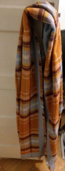 Nuovo Di Zecca Topshop Oversize Super Soft Controllato Sciarpa Rrp £ 25 Sii Amichevole In Uso