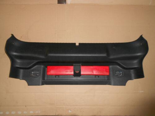 Audi TT 8N Coupé Quattro Heckverkleidung für Kofferraum unten schwarz 8N0863471C
