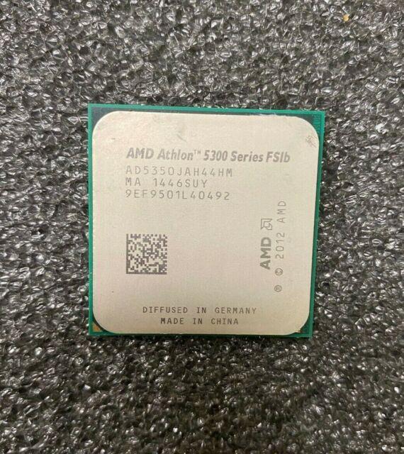 Amd Athlon 5350 Quad Core Apu Kabini Processor 2 0ghz Socket Am1 Retail For Sale Online Ebay