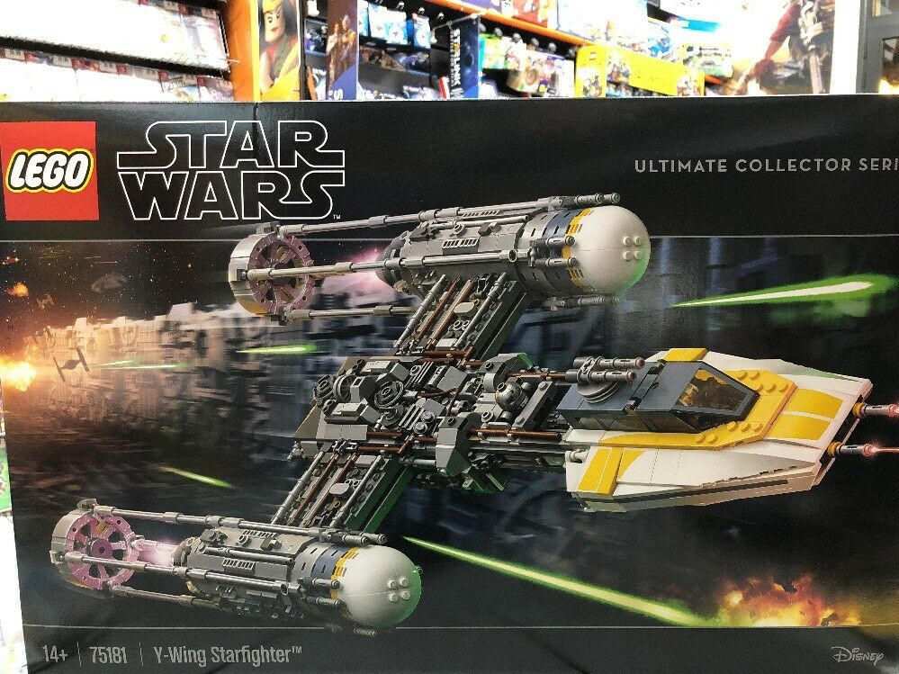 Lego Star Wars Y-Wing Starfighter Ultimate Collector Series 75181 NUOVO SIGILLAT