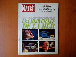 Paris-Match-n-851-31-juillet-1965-Les-Merveilles-de-la-Mer-Athenes
