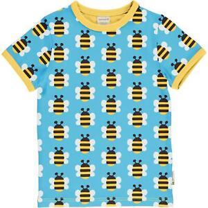 SS20 Maxomorra Playful Panda Short Sleeve Top Organic Cotton Scandi Tee Shirt