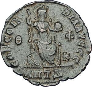 THEODOSIUS-I-the-GREAT-Genuine-378AD-Authentic-Ancient-Roman-Coin-i65864