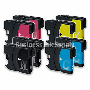 8-Pack-NEW-LC61-Ink-Cartridges-for-brother-printer-LC61BK-LC61C-LC61M-LC61Y-LC61