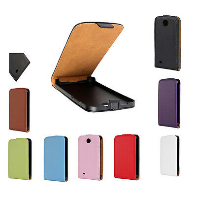 Top Quality Magnetic Closure Flip Leather Case Cover For HTC Desire Smart Phone