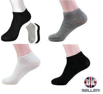 1,2,3 MEN/'S RICH COTTON INVISIBLE LOAFER TRAINER FOOTSIES SHOE LINER SOCKS 6-11